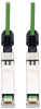SFP+ 10Gbase-CU Passive Twinax Copper Cable, SFP-H10GB-CU1M Compatible, Green, 1M (3-ft.) -- N280-01M-GN - Image