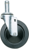 Caster Stem/Swivel with Donut Bumper -- 5MP - Image