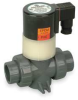 Solenoid Valve,NC,1/2 In, PVC -- 3CDY5