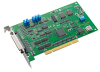 100 kS/s, 12-bit, 16-ch Universal PCI Multifunction Card with High Gain -- PCI-1710HGU-DE