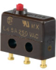 MICRO SWITCH SX Series Subminiature Basic Switch, Single Pole Double Throw (SPDT), 250 Vac, 5 A, Pin Plunger Actuator, Solder Termination -- 11SX21-T -Image