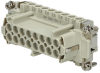 Connector insert ILME CNEF-16T