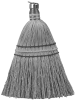 10 Inch Corn Whisk Broom -- 30115
