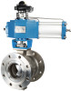 RV Series Flanged Type Segment Ball Control Valve - Image