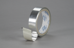 DW 411 is a heavy (4 mil) aluminum foil/glass fabric laminate with a high temperature silicone adhesive.
