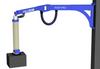 Wall Mounted PIVOT PRO? Articulating Jib Crane, 150 lb. Capacity -- PPRO-WM-150 Series