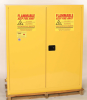 Eagle 110 gal Yellow Hazardous Material Storage Cabinet - 58 in Width - 65 in Height - 048441-00043 -- 048441-00043 - Image