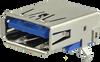 Type A USB Connector -- UJ3-AH-4-TH