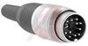 connector,circular din,str male cable conn,12 silver-pltd solder contact,ip40 -- 70013428