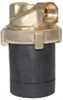 Cole-Parmer Canned Motor Sealless Pump, Brass Body, Variable Speed, 5.5 GPM or 11 FT, 1/2 inch sweat connection -- EW-75561-42