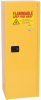 Eagle 24 gal Yellow Hazardous Material Storage Cabinet - 23 in Width - 65 in Height - Bench Top - 048441-33395 -- 048441-33395