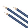 RG6 COAXIAL CABLE 18 AWG DIGITAL CATV CMR 1K -- 30-01031-BLUE