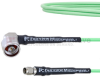 Low Loss RA N Male to SMA Male Cable LL160 Coax in 12 Inch and RoHS -- FMCA1719-12 -Image