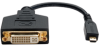Micro HDMI Male ( Type D ) to DVI-D Female Adapter, 6 Inch -- P132-06N-MICRO