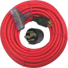 Cummins D19004189 10/3 Generator extension Cord 50', Tripple -- CORDEXTGEN4PRO50103TTRED