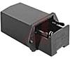 Hldr, Battery; PP3 (6R61); Phospher Bronze; Tin; Panel Mount; 1; Solder Lug -- 70099004 - Image