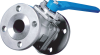 2-PC Flanged End Industrial Ball Valve -- EA-402 -- View Larger Image
