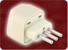UNIVERSAL TO ITALIAN ADAPTER -- 0532.BG - Image