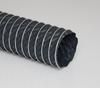 Single-Ply Silver Hypalon® Coated Polyester Fabric Hose -- Flex-Lok® HP 4.0
