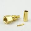 SMC Plug Connector Crimp/Solder Attachment For 0.100 inch, RG316, RG174, RG188, LMR-100, LMR-100A, LMR-100A-FR Cable -- SC8801 -Image