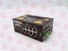 RED LION CONTROLS 508TX ( ETHERNET SWITCH, INDUSTRIAL, 8PORT, 10/100BASETX, 0.5AMP, 10-30VDC, DIN-RAIL MOUNT ) -Image