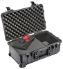 Pelican 1510 Carry On Case with Foam and TrekPak Divider - Black | SPECIAL PRICE IN CART -- PEL-015100-0150-110 - Image