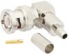 RA BNC Male Connector Crimp/Solder Attachment For RG55, RG142, RG223, RG400 Cable -- FMCN1372 -Image