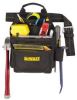 DEWALT 9-Pocket Deluxe Carpenter's Nail and Tool Bag -- Model# DG5602