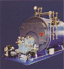 SERIES SM4 - LOW PRESSURE STEAM AND HOT WATER SCOTCH MARINE BOILER -- SM4-350
