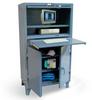 Deluxe Computer Cabinet -- 35-203-1SOS-LDD - Image