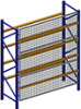 Wire Mesh Rack Guards - Image