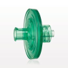 Hydrophilic Filter, Female Luer Lock Inlet, Male Luer Lock Outlet, Green -- 28304 - Image