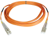 Duplex Multimode 50/125 Fiber Patch Cable (LC/LC), 152M (500-ft.) -- N520-152M