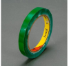 3M Scotch 690 Green Color Coding Bag/Packaging Tape - 12 mm Width x 66 m Length - 2.3 mil Thick - 61640 -- 021200-61640
