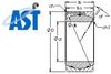 Rod Ends and Spherical Bearings -- GEH670HF/Q