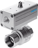 VZPR-BPD-22-R38 Ball valve with drive unit -- 540511