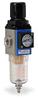 Pneumatic / Compressed Air Filter-Regulator: 1/4 inch NPT female ports -- AFR-2233-M