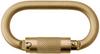 DBI-SALA Nano-Lok Yellow Zinc Self-Retracting Lifeline Connector - 840779-01268 -- 840779-01268