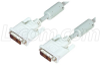 Premium DVI-D Dual Link DVI Cable Male / Male w/ Ferrites, 3.0 ft -- CTLDVI-DL-MM-3 - Image