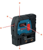 Bosch GPL5 Self Leveling 5 Points Alignment Laser -- LASERGPL5