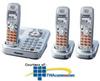 Panasonic DECT 6.0 Expandable Digital Cordless Phone with.. -- KX-TG9343S