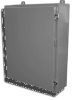 Powder Coated Steel NEMA 12 Wallmount One Door Single Access -- E-602412