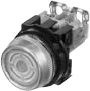 Pushbutton Switch With Emergency Operating Cap -- AR30FVR