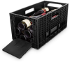 Flexible Wine Rack and Transport Container -- Weinbox