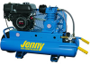 Jenny 5.5-HP 8-Gallon Wheelbarrow Air Compressor -- Model K5HGA-8P