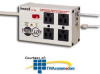 Tripp Lite 4 AC Outlet Ultra Diagnostic Surge Suppressor.. -- ISOTEL-4-ULTRA -- View Larger Image
