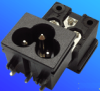 Power Inlets IEC 320-C6 -- AEL-JR-307E(PCB)-Image