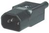 CONNECTOR, POWER ENTRY, PLUG, 10A -- 50B6852