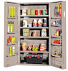 """Heavy-Duty All-Welded Storage Cabinets - 36"""" Wide - QSC-BG-36-4IS-12DS - Image"""