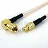MCX Plug to RA SMB Plug Cable RG-316 Coax in 60 Inch -- FMC0726316-60 -Image